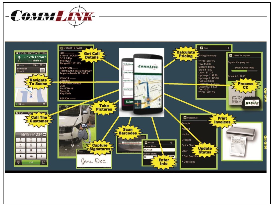 CommLink Mobile App