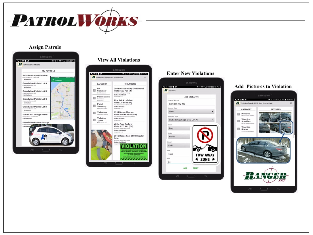 PatrolWorks Mobile App
